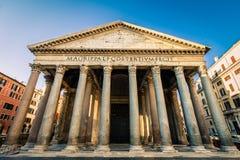 Panteon di mattina, Roma, Italia, Europa fotografia stock