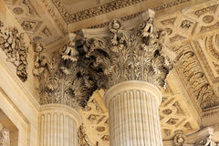 Panteon i Paris, Frankrike royaltyfria bilder