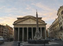 Panteon i Rome Royaltyfri Foto