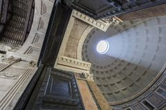 Panteon i Rome, Italien Arkivbild