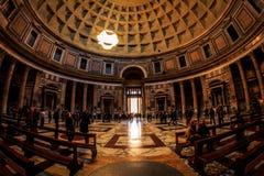 Panteon i Rome, Roma Italy arkivfoto
