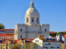 Panteon nazionale, Lisbona, Portogallo immagini stock