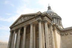 Panteon Parigi Fotografie Stock Libere da Diritti