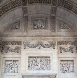 Panteon Parigi Francia Fotografie Stock Libere da Diritti