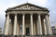 Panteon Paris Royaltyfria Foton