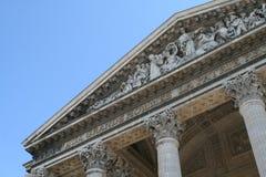 panteon Paryża Obraz Royalty Free