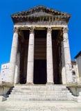 Panteon in Pola Croazia Immagini Stock Libere da Diritti