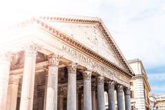 Panteon - poprzedni rzymski ko?ci?? w Rzym, W?ochy obraz royalty free