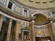Panteon - Roma Fotografie Stock Libere da Diritti