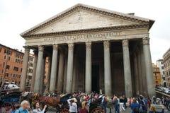 Panteon Roma Arkivfoton