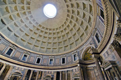 Panteon Rome Arkivfoton