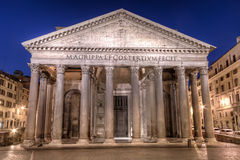Panteon Rome Royaltyfri Bild