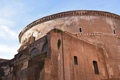 Panteon Rome Italien Arkivfoto