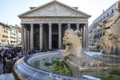 Panteon rome Italien Europa Arkivbilder