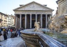 Panteon rome Italien Europa Arkivfoto