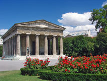 Panteon a Volksgarten, Vienn Immagine Stock Libera da Diritti