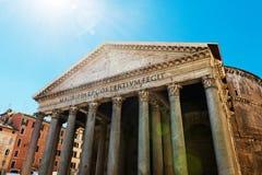 panteon włochy Rzymu Fotografia Royalty Free