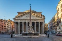 Panteon w Rzym Fotografia Royalty Free