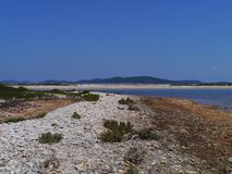 The Pantera bay near Veli Rat in Croatia Stock Image
