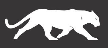 Pantera Cat Vector Design Clipart Imagen de archivo