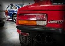 Pantera gts rode kleur van DE Tomaso Royalty-vrije Stock Afbeelding