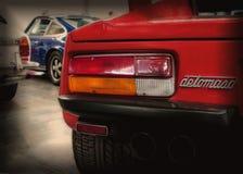 Pantera gts rode kleur van DE Tomaso Royalty-vrije Stock Foto's