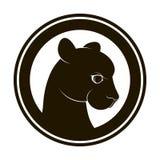 Pantera-logotipo Imagenes de archivo