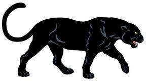 Pantera negra ilustración del vector