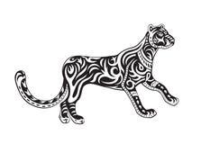 Pantera ornata etnica Immagine Stock Libera da Diritti