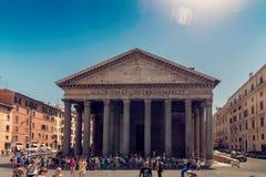 Panthéon à Rome Photographie stock