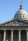 Panthéon de París, Francia Foto de archivo libre de regalías
