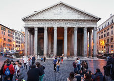 Panthéon de Rome photos stock