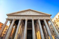 Panthéon pendant le matin, Rome, Italie, l'Europe photo libre de droits