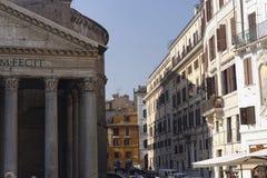 Panthéon Rome de l'Italie Photographie stock libre de droits