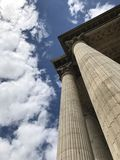 Pantheon's hörn royaltyfri bild