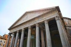 Pantheon, ο αρχαίος ναός όλων των Θεών Το καλύτερα συντηρημένο αρχαίο αντικείμενο στη Ρώμη Ιταλία στοκ φωτογραφίες
