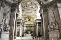 Pantheon, Παρίσι, Γαλλία Στοκ φωτογραφία με δικαίωμα ελεύθερης χρήσης