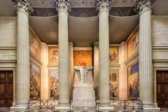 Pantheon - Παρίσι, Γαλλία Στοκ Φωτογραφία