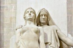 Pantheon - Παρίσι, Γαλλία Στοκ Φωτογραφίες