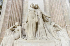 Pantheon - Παρίσι, Γαλλία Στοκ φωτογραφία με δικαίωμα ελεύθερης χρήσης