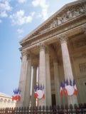 pantheon Παρίσι Στοκ φωτογραφία με δικαίωμα ελεύθερης χρήσης
