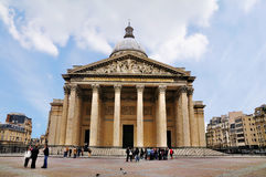 pantheon Παρίσι στοκ εικόνα με δικαίωμα ελεύθερης χρήσης