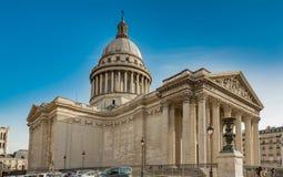 pantheon Παρίσι Στοκ Εικόνες