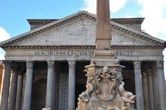 Pantheon - Ρώμη, Ιταλία Στοκ Εικόνα