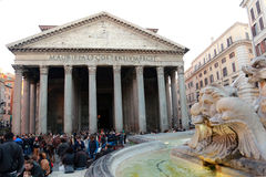pantheon Ρώμη Στοκ εικόνες με δικαίωμα ελεύθερης χρήσης