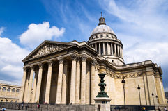 Pantheon. Famous Pantheon monument in Paris Stock Images