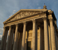 The Pantheon. Pantheon at dusk Paris, France Stock Images
