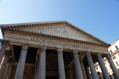 Pantheon Royalty-vrije Stock Afbeeldingen