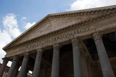 pantheon Royaltyfri Foto