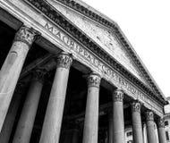 pantheon lizenzfreie stockfotografie